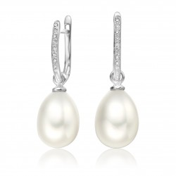 Freshwater Pearl Earring Made In 14K Gold