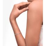 Diamond Heart Bracelet made in 18k White Gold (0.34 cts)